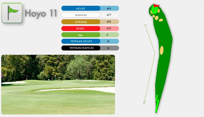 Campo de Golf Hoyo 11