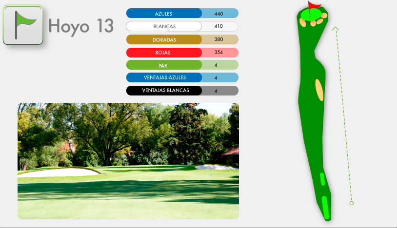 Campo de Golf Hoyo 13