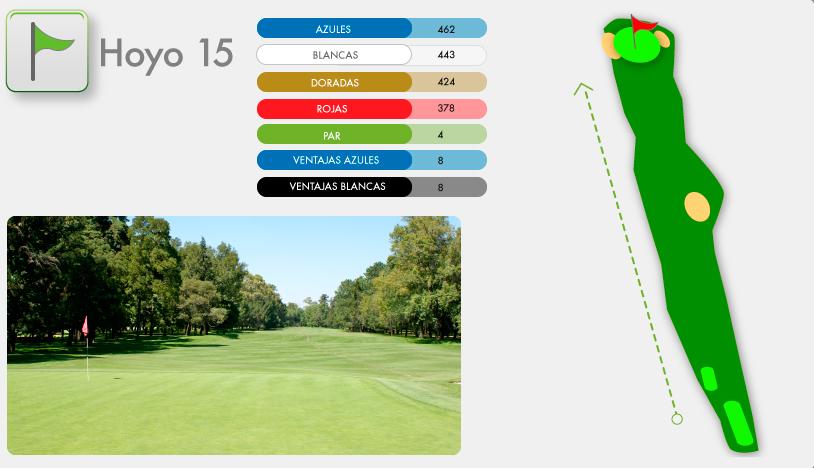 Campo de Golf Hoyo 15