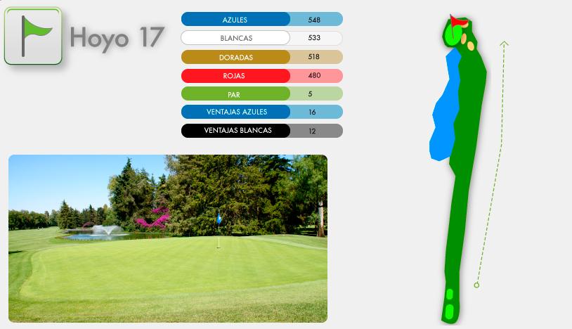 Campo de Golf Hoyo 17