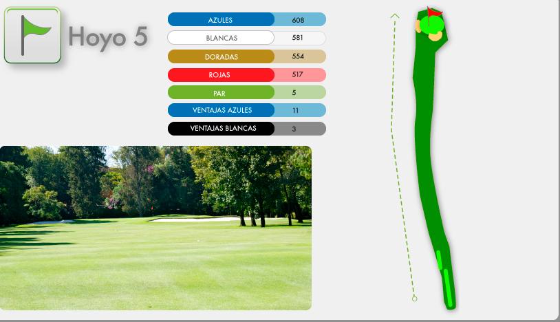 Campo de Golf Hoyo 5