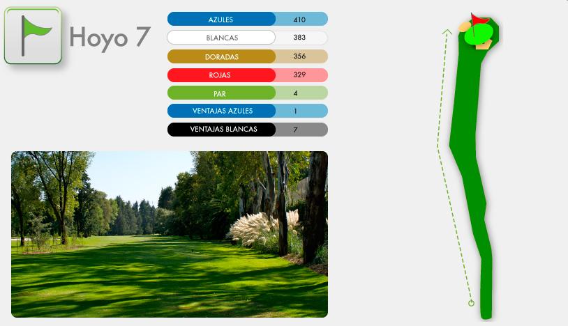 Campo de Golf Hoyo 7